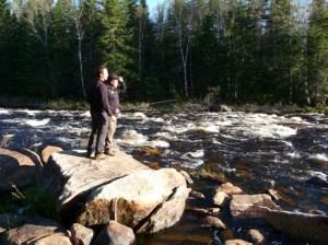 riviere matawin peche
