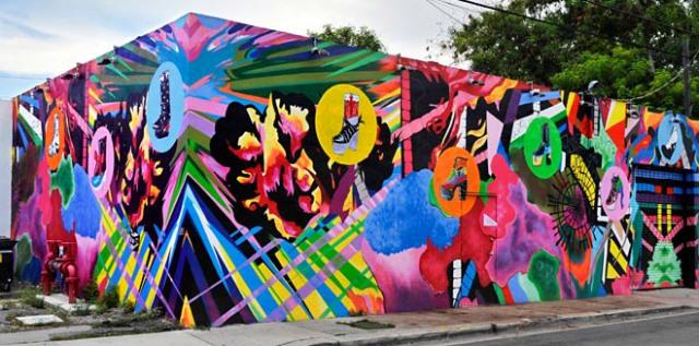 ww - mur multicolore