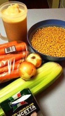 ingredients soupe aux pois