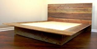 Fabriquer un lit plateforme avec coffre de rangement - Construire son lit ...