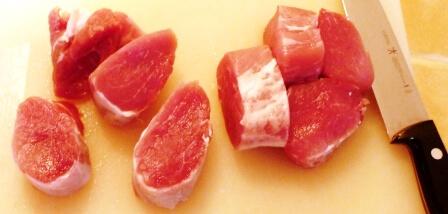 coupe medaillon porc tp