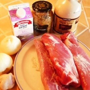 ingredient medaillon porc moutarde erable tp