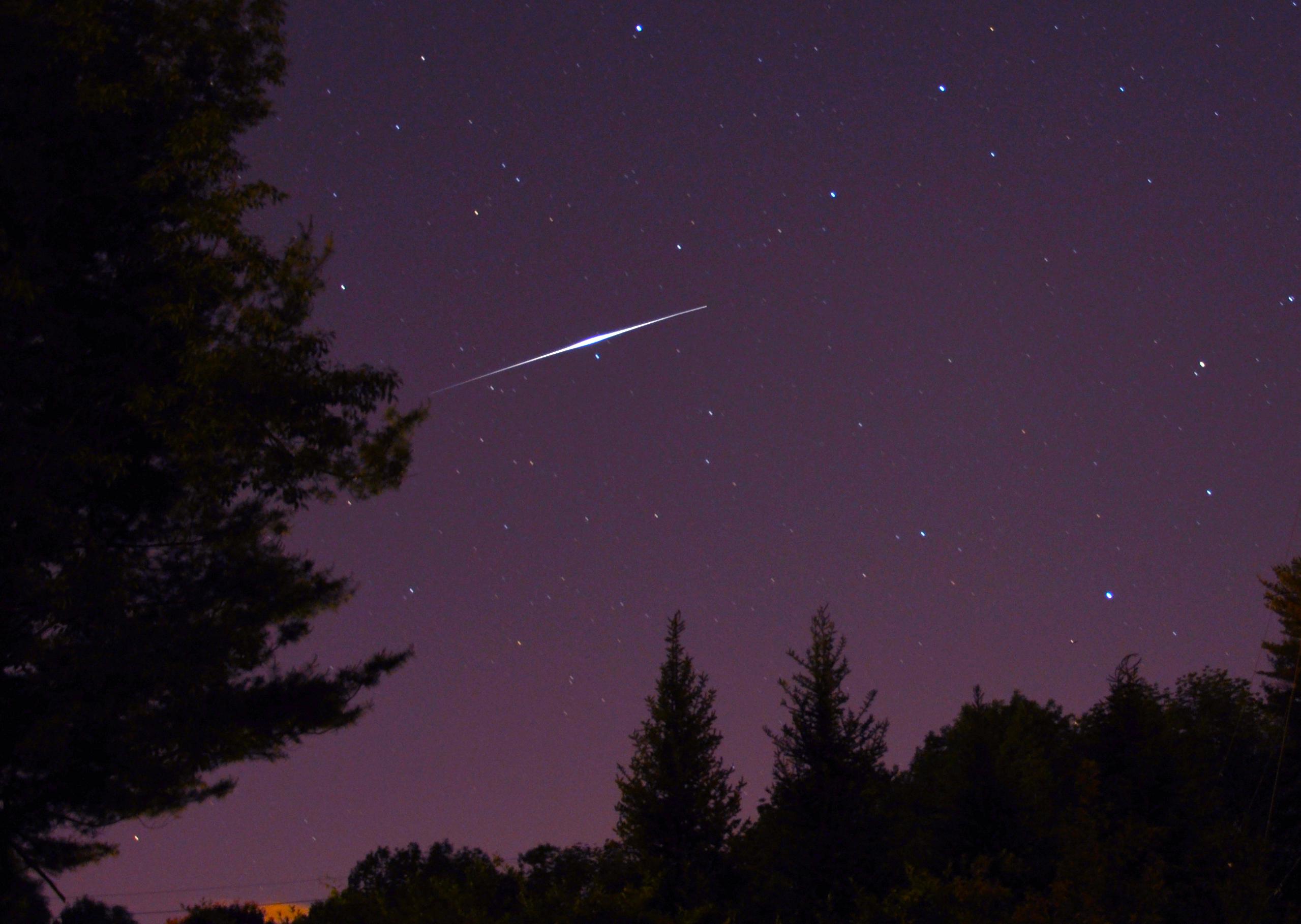 Perseid Meteor Shower Viewing