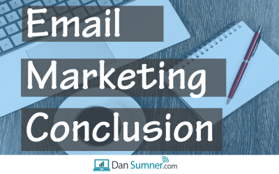 Beginners Email Marketing Conclusion