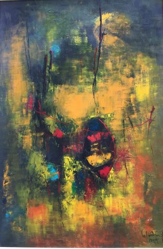 Abstract art for sale done by Hoi Lebadang