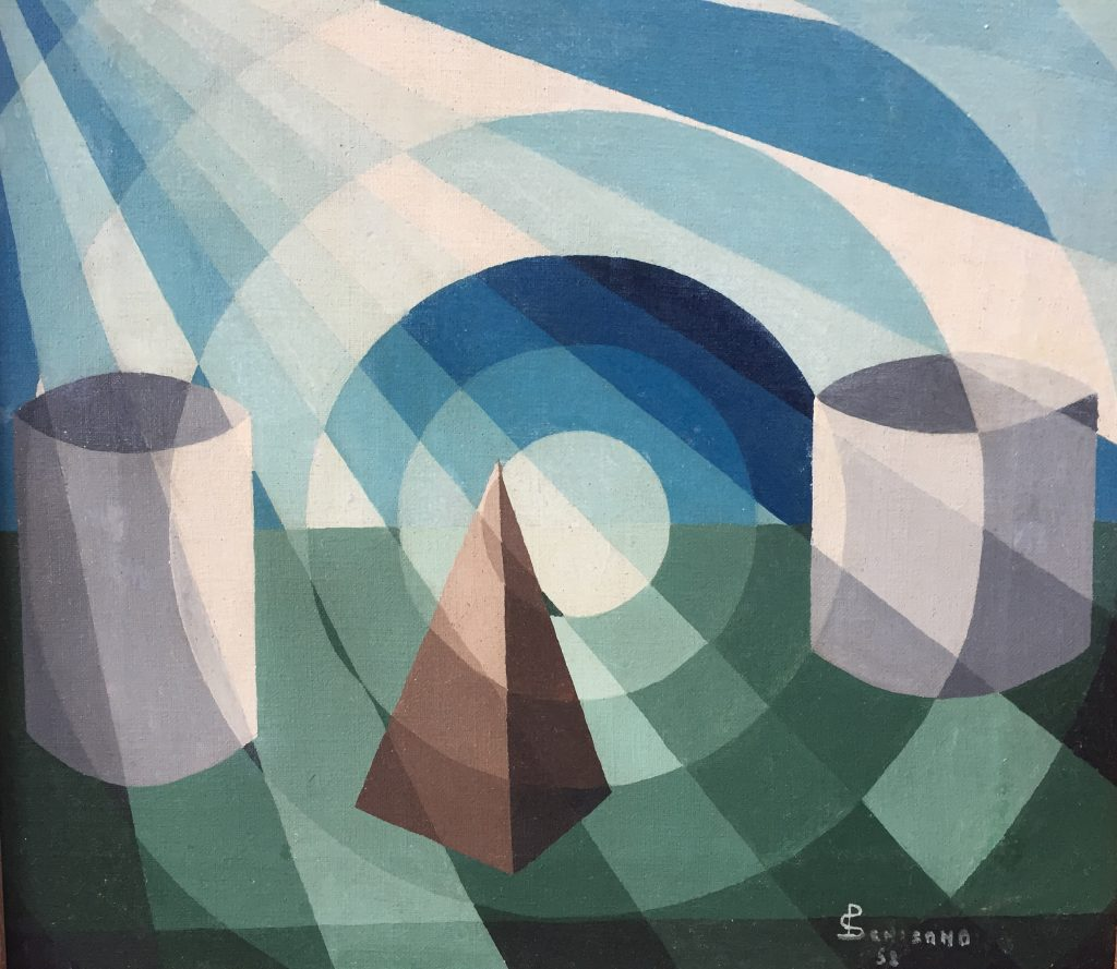 Abstract art for sale of geometric shapes