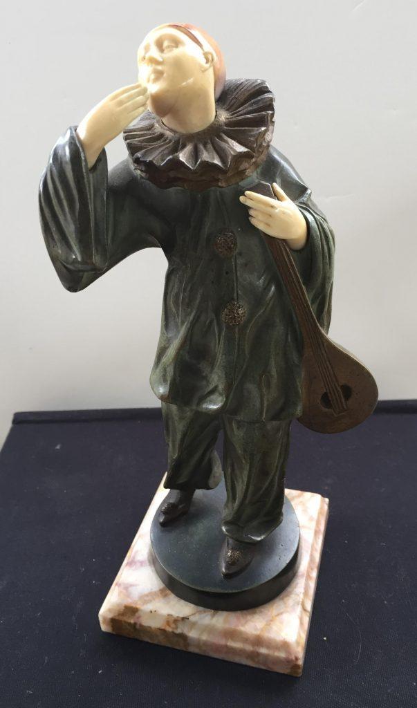 objet d'art, bronze and marble sculpture for sale