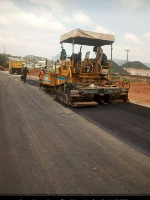 road infrastructure on the district by dantata