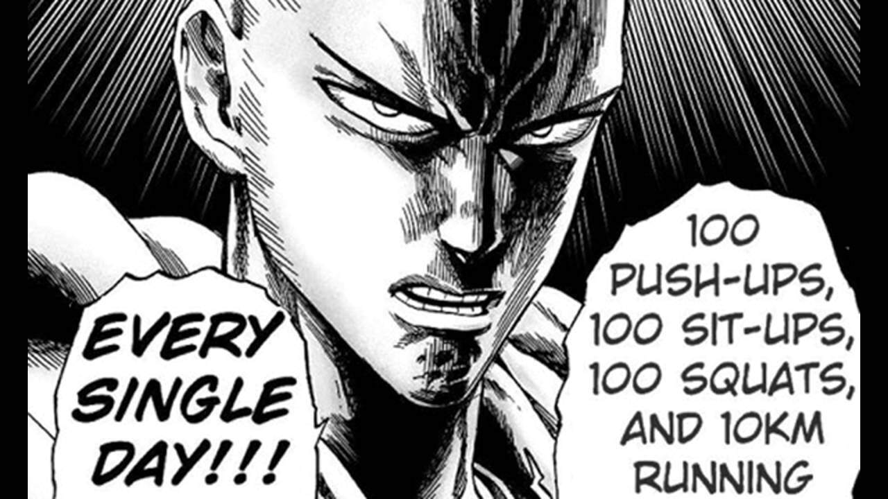 One Punch Man Workout To Be The #1 Hero!