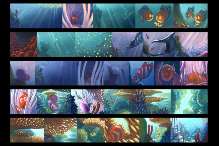 Storyboards_FindingNemo