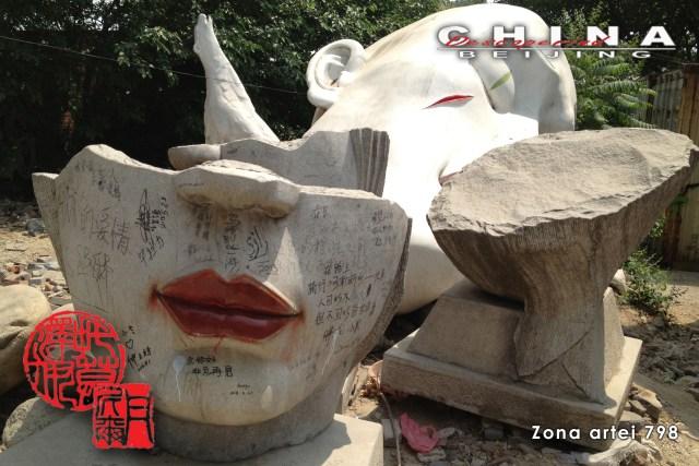 Descoperind China - Beijing, Zona Artei 798 C