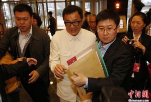 Conferintele CPPCC 2013_Jackie Chan 1