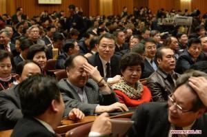 Conferintele CPPCC 2013_Mo Yan 2