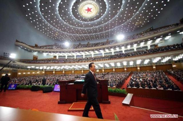 Wen Jiabao ultimul raport la Conferintele CPPCC 2013