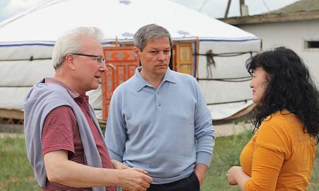 Comisarul Dacian Ciolos in Mongolia B