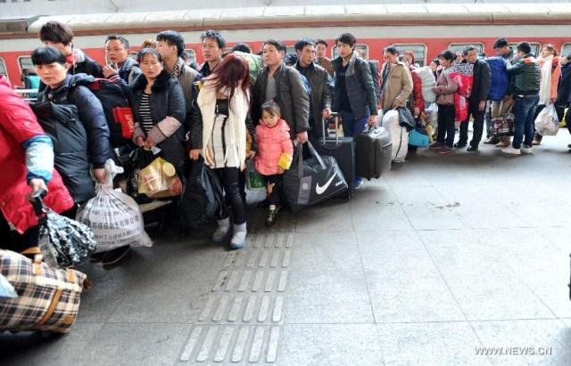 Marea Migratie China 2014 3