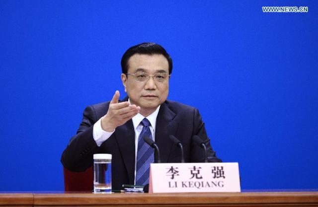 Li Keqiang, conferinta de presa final ANRP 13.03.2014