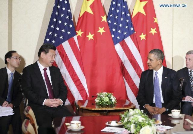 Xi Jinping - Barack Obama, 25.03.2014