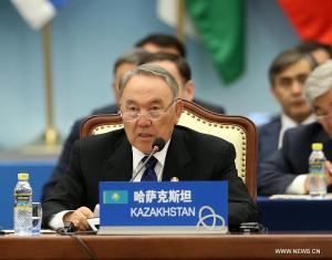CICA, Shanghai 2014  Nursultan Nazarbayev