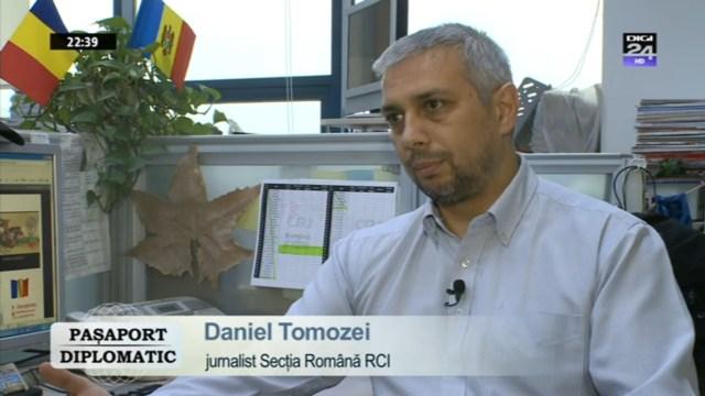 DIGI24 TV-PASAPORT DIPLOMATIC, Dan Tomozei - Radio China International