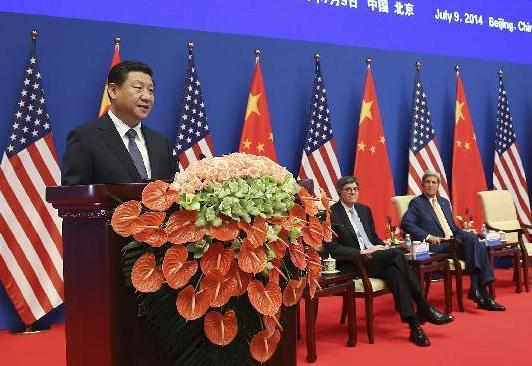 Xi Jinping, la a 6-a runda a dialogului strategic China-SUA, Beijing iulie 2014