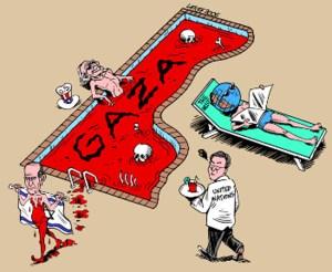 Gaza in baie de sange
