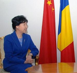 AmbasadorUL R.P. Chineze la Bucuresti ES Huo Yuzhen