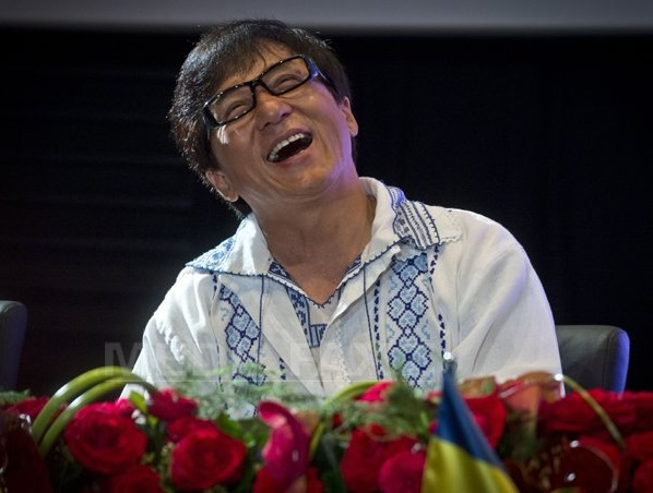 Jackie Chan in Romania, 11 septembrie 2014 B