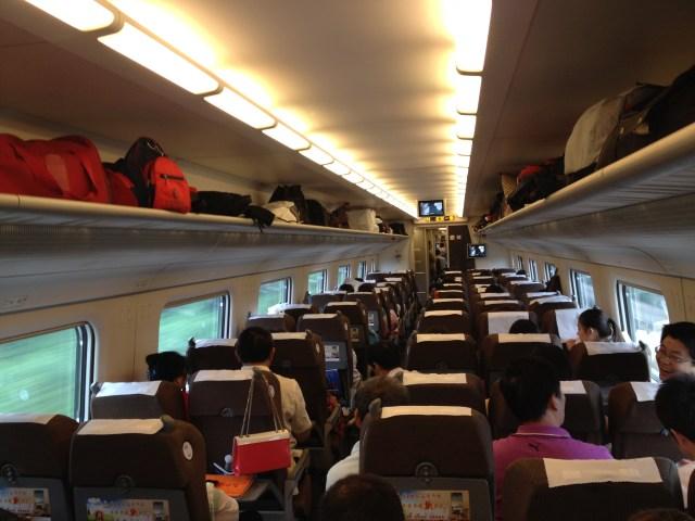 Tren de mare viteza in China 5