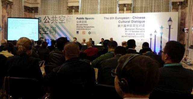 Dialogului Cultural Europa China Bucuresti octombrie 2014 2