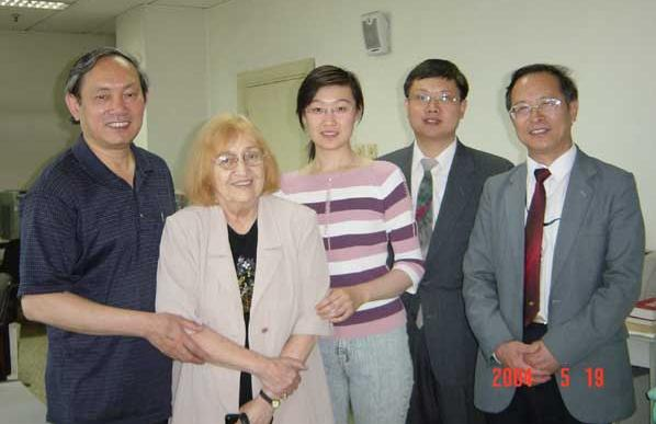 Evira Ivascu la Radio China International, 2004