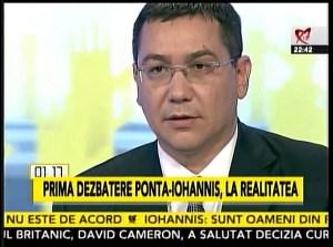 Confruntare Klaus Iohannis - Victor Ponta, 11.11.2014 Ponta