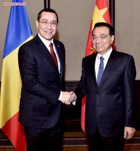 Victor Ponta - Li Keqiang, Belgrad 16 decembrie 2014