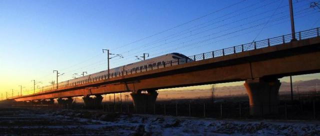 China, cale ferata de mare viteza 3