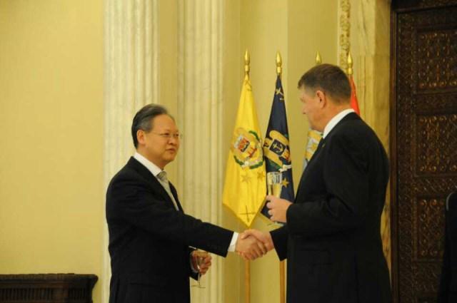 Xu Feihong, noul Ambasador al Chinei in Romania