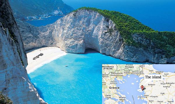 Insula din Grecia cumparata de un milionar chinez