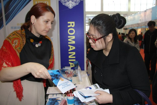 UBB Cluj Napoca la Targul International Educational China 2015 C