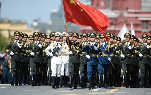 Chinese People's Liberation Army, Moscova 9 mai 2015