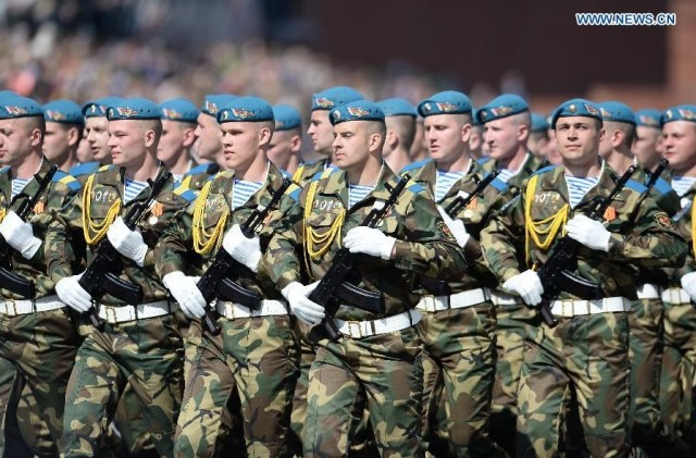 Special Operations Forces of the Armed Forces of Belarus, Moscova 9 mai 2015