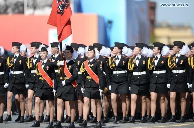 Suvorov Military School, Mosocova 9 mai 2015