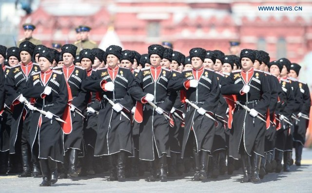 The Battalion of the Kuban Cossacks, Moscova 9 mai 2015