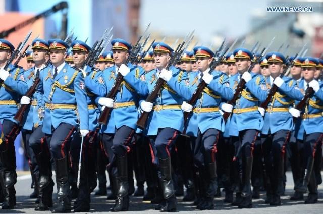 The Serbian Guards Unit, Moscova 9 mai 2015