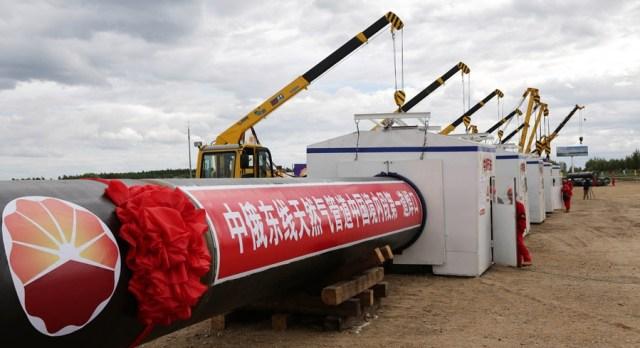 Gazoduct China-Rusia