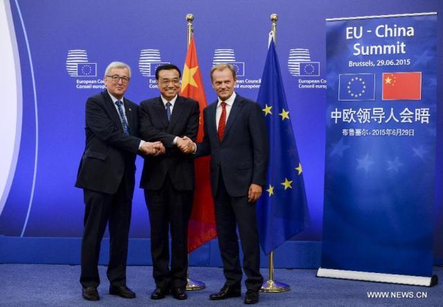 Summit Eu-China, iunie 2015