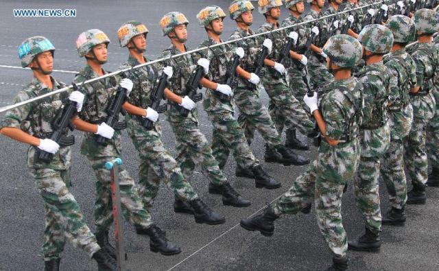 12 Parada militara 70 de ani WW II, pregatire