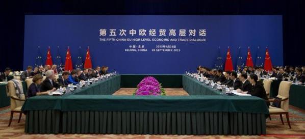 China - UE, Beijing 28.09.2015