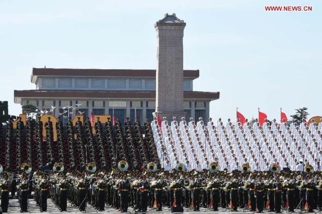 Parada China 70 Ani WWII, 03.09.2015 12