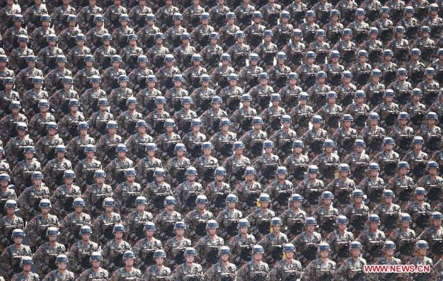 Parada China 70 Ani WWII, 03.09.2015 5
