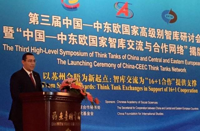 Victor Ponta, Beijing 16.12.2015