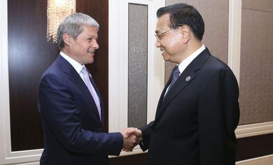 Li Keqiang-Dacian Ciolos, 15.07.2016 Ulan Bator